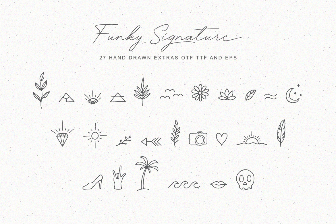 Funky Signature - Funky Fonts example image 7