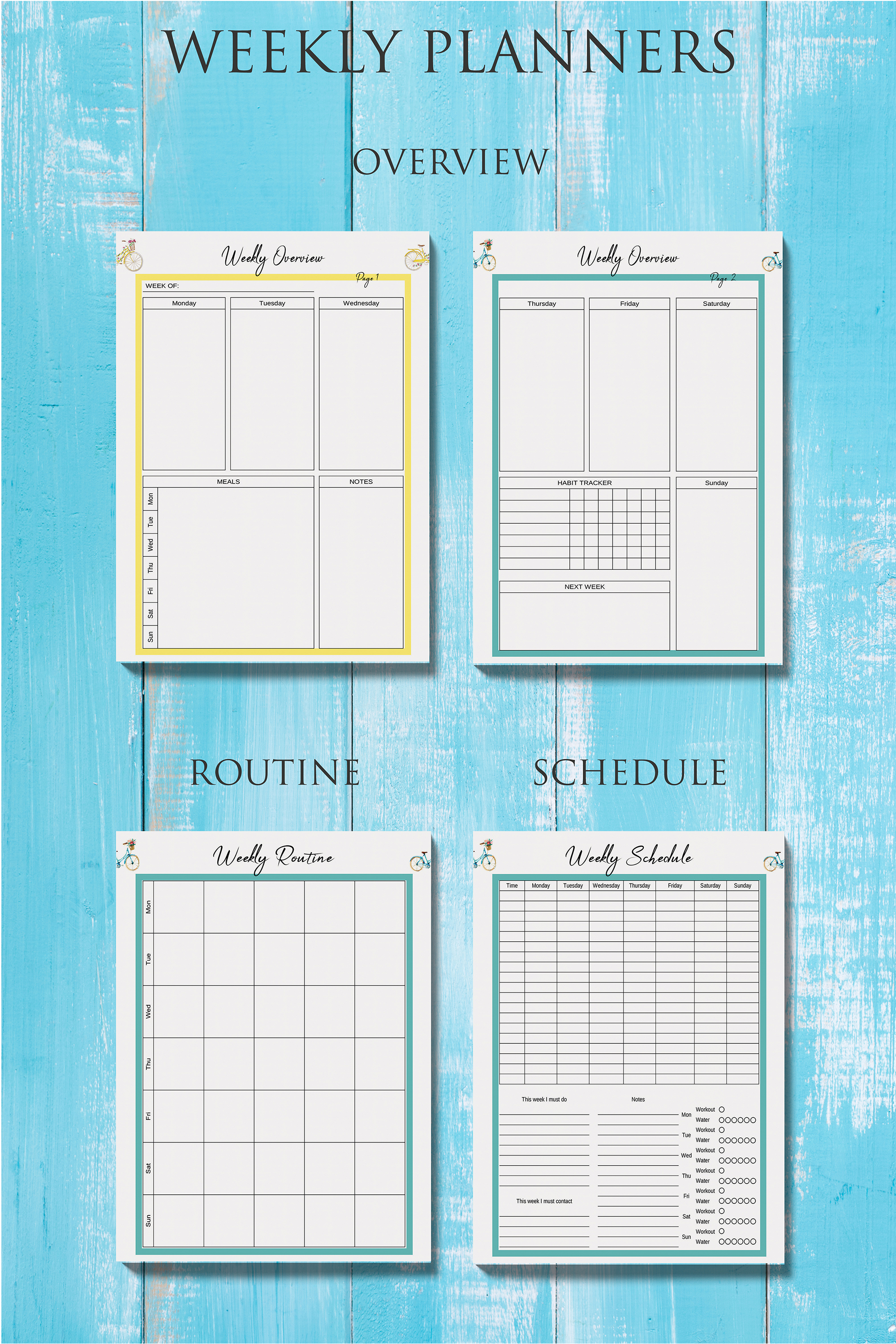 Life Planner Binder, Goal Planner Printable, Life Organizer example image 4