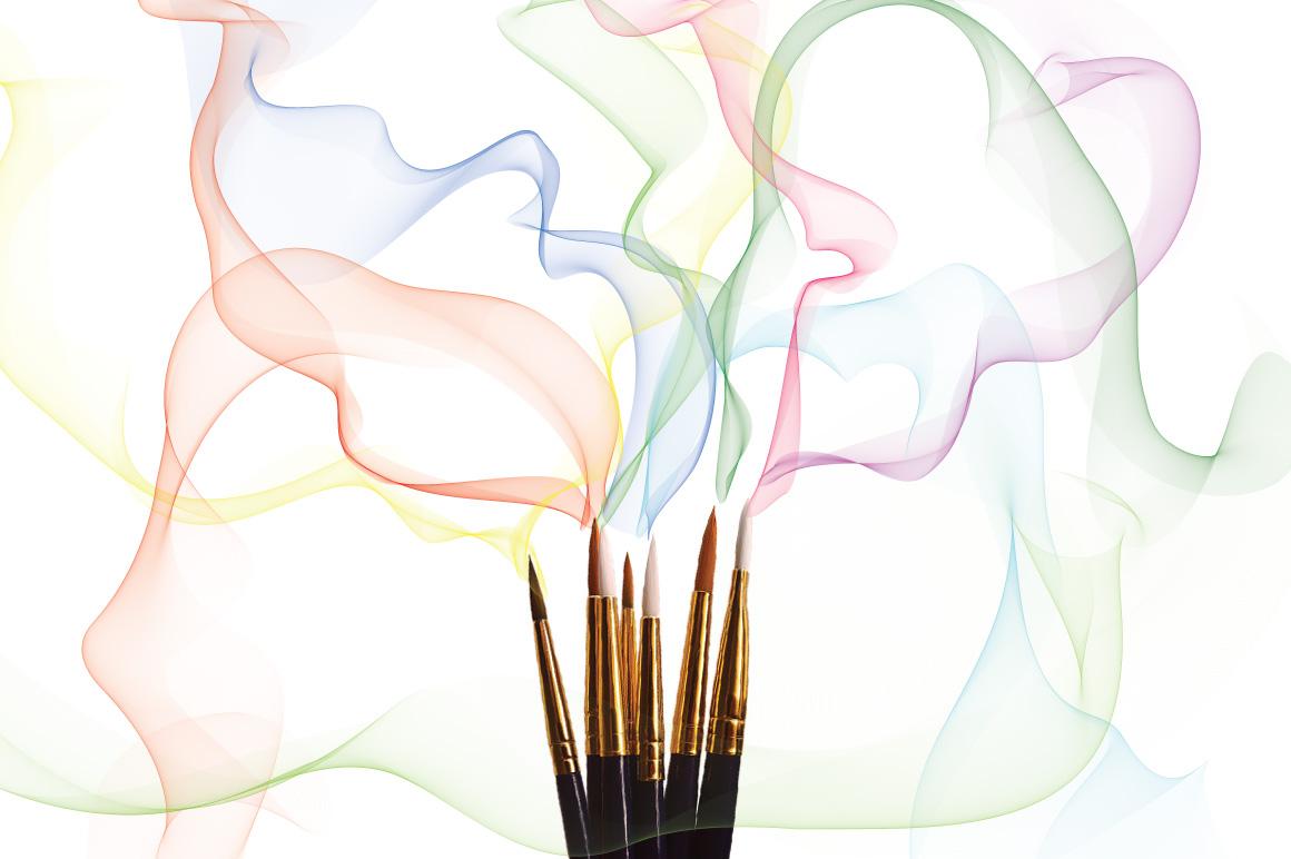 Illustrator Smoke Brush example image 1