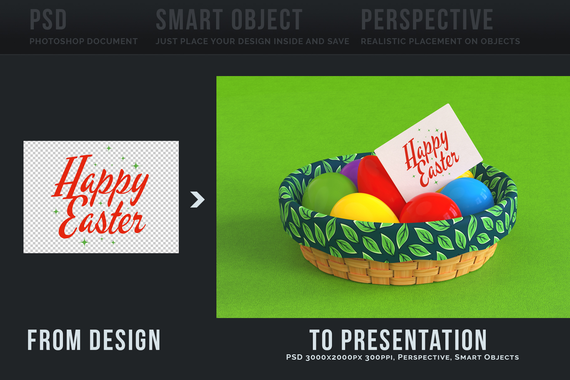 Easter Egg Mockups and Images example image 6