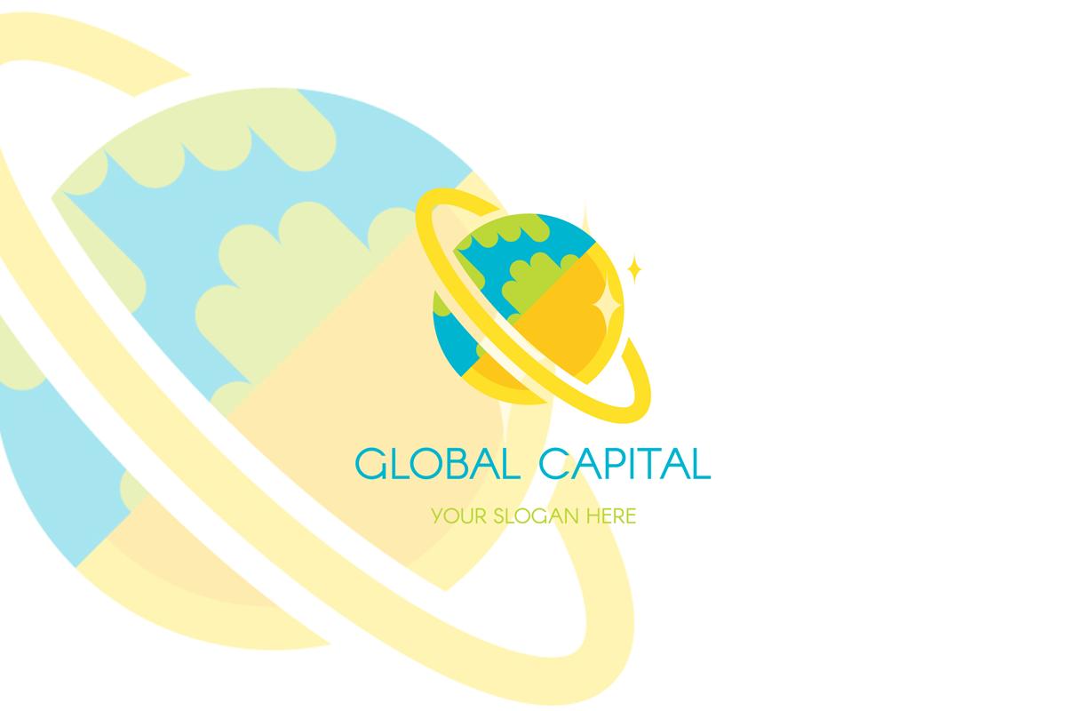Global Finance Capital Logo Template example image 1