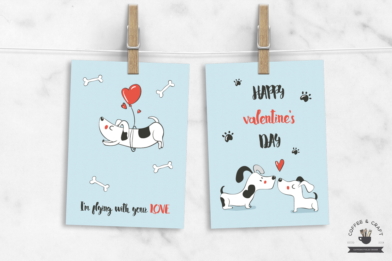 Valentine Cutie Dogs example image 3