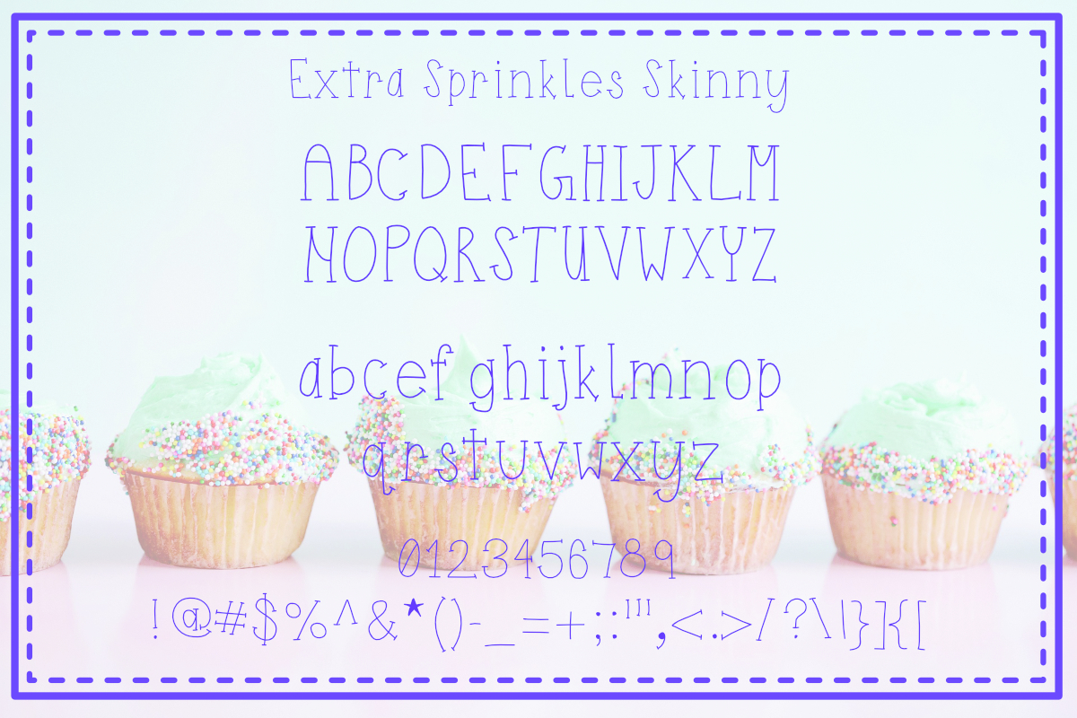 Extra Sprinkles Font Trio example image 4