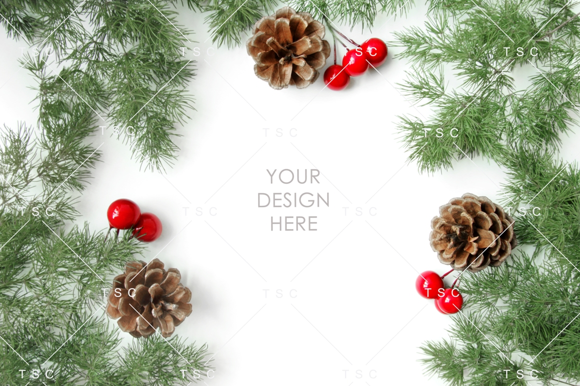 Christmas Stock Bundle / Background Image / Red / Green example image 10