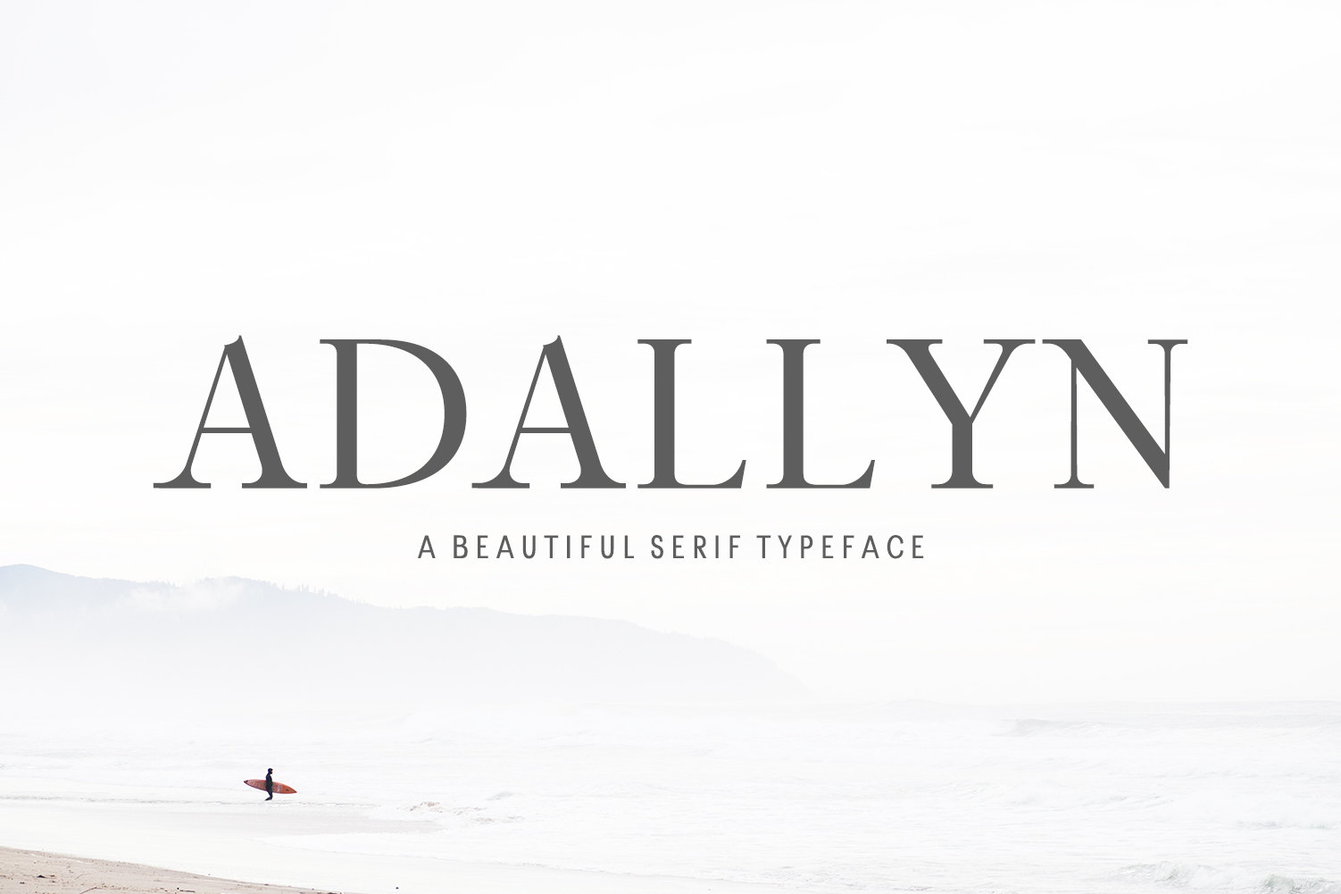 Adallyn Serif Font Family Pack example image 1
