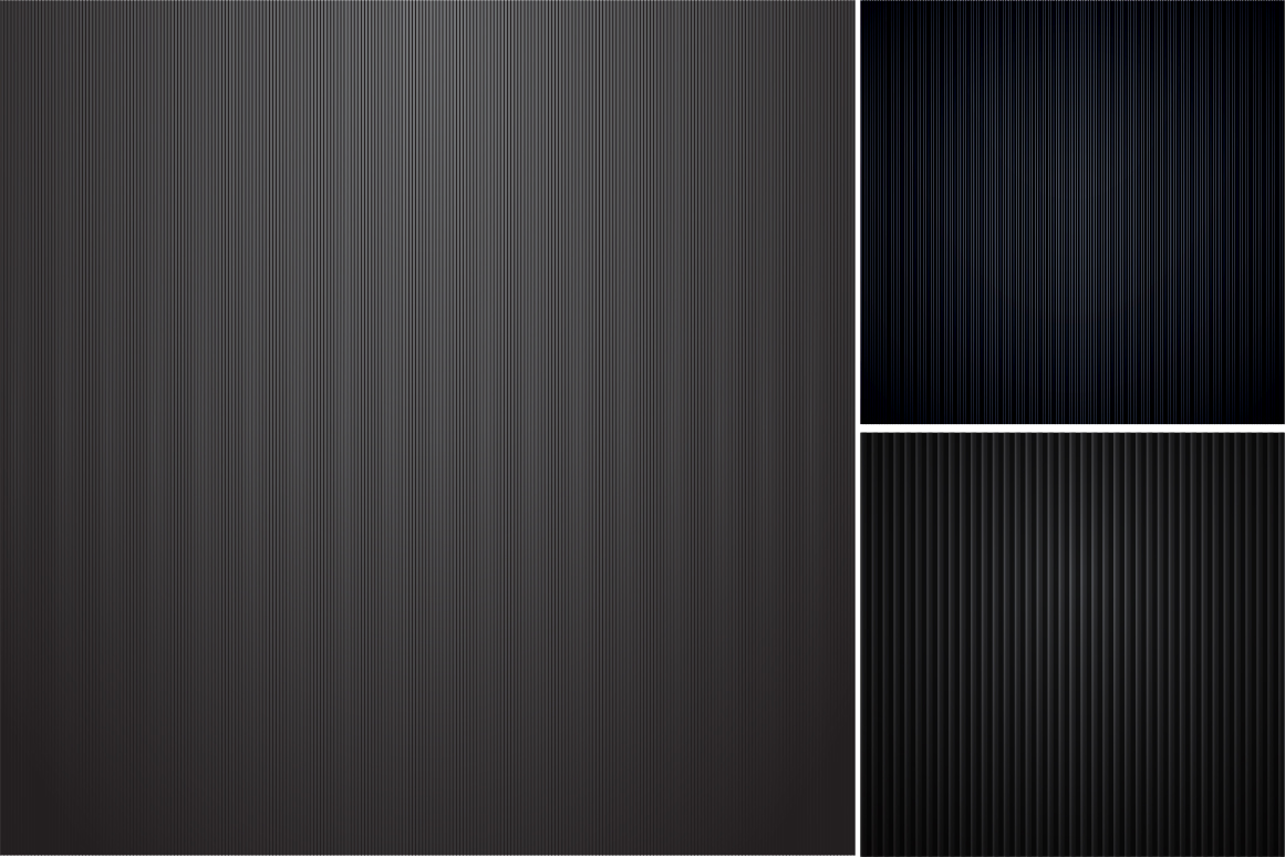 Colleciton of black striped textures example image 4