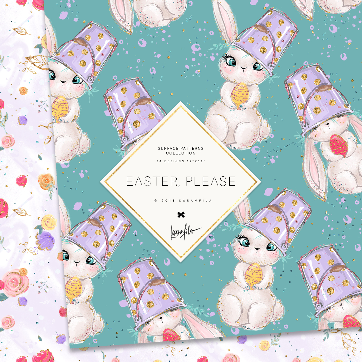 Easter Patterns example image 3