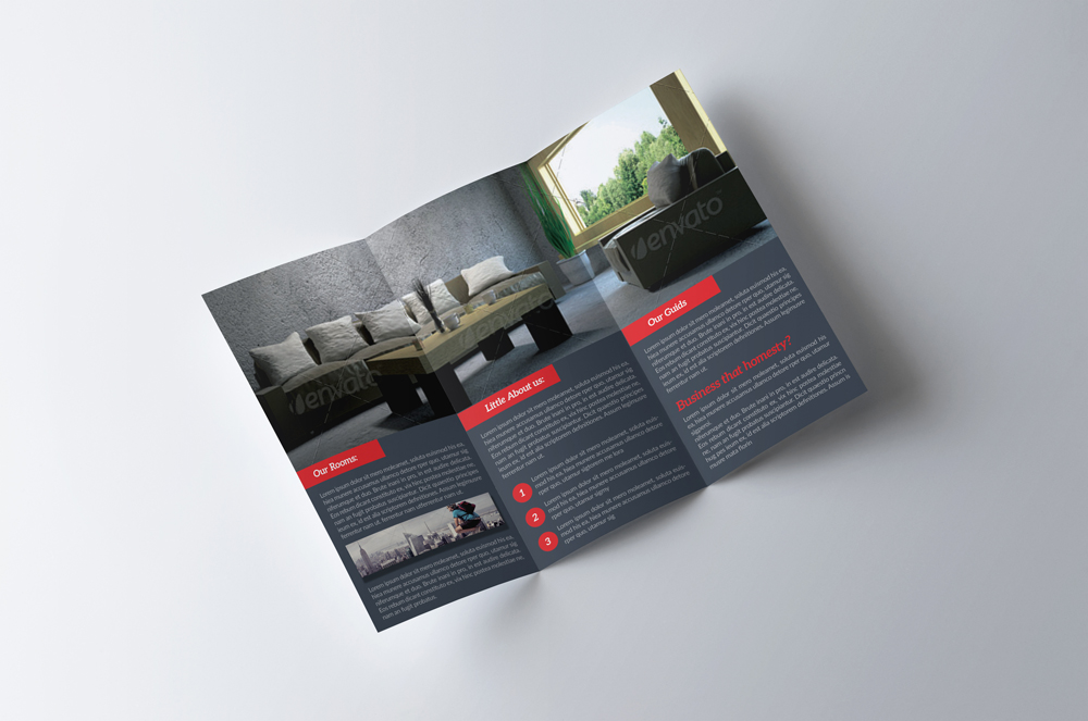 Real Estate Trifold Brochure example image 2