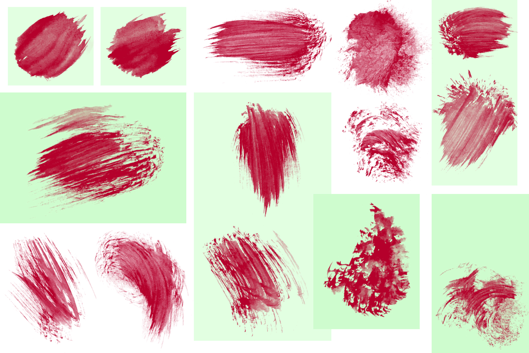 95 Watercolor brushes for PS example image 9
