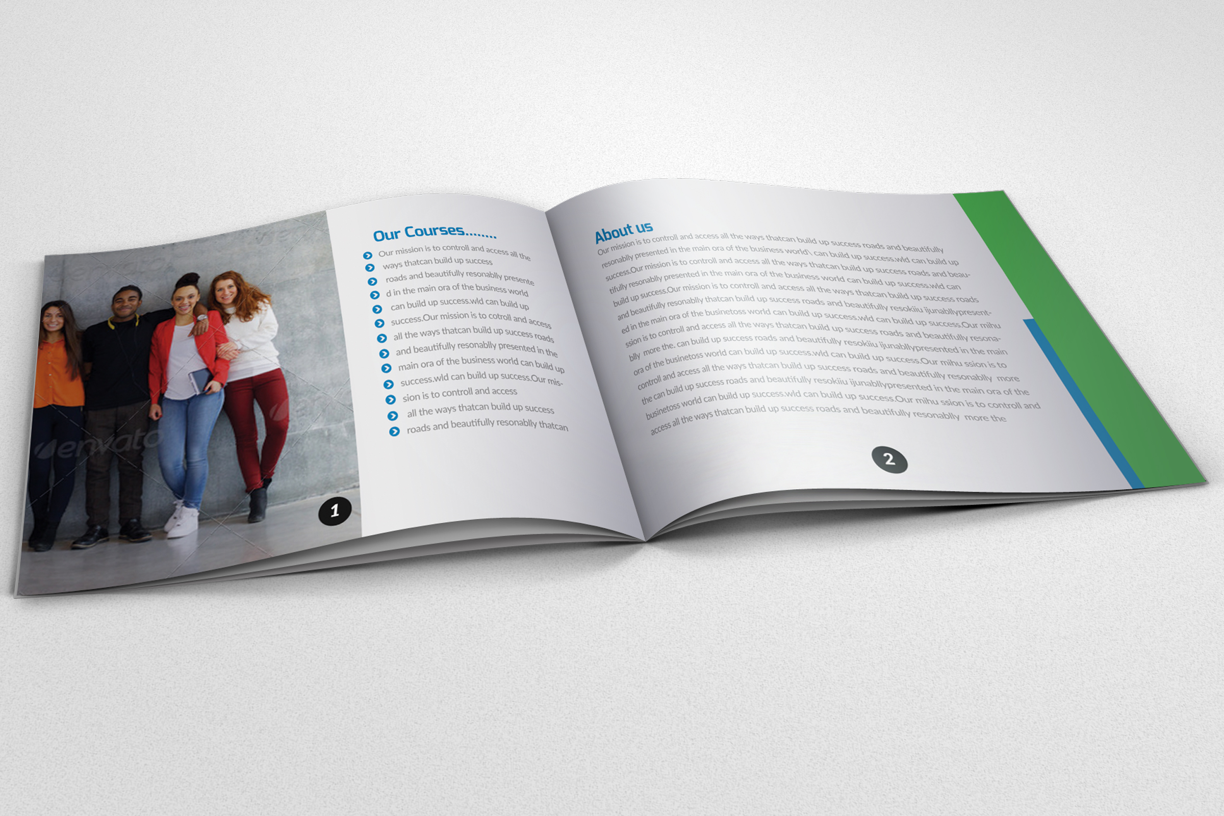 20 Pages Catalogue Education Bifold Brochure example image 6