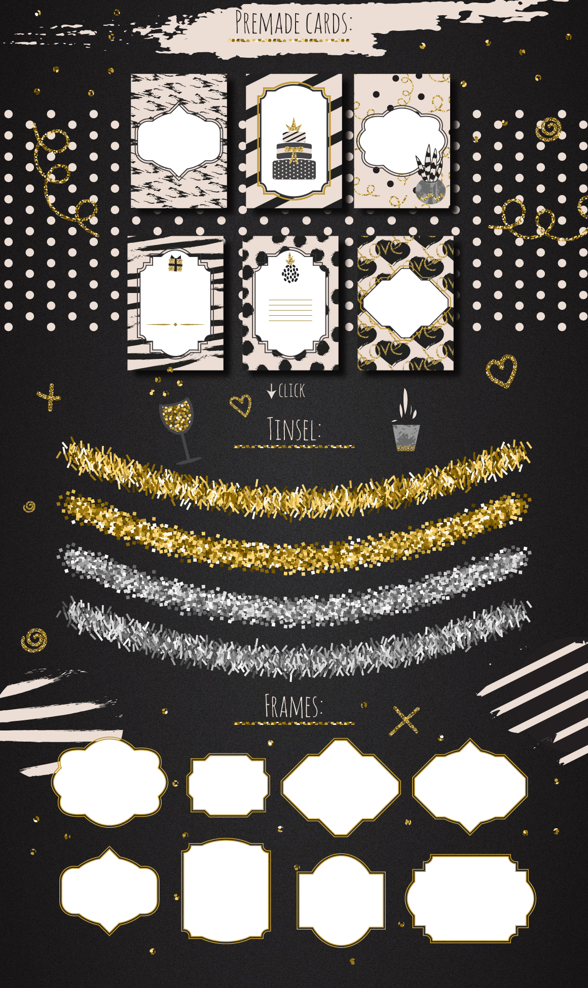 DIY Glam Party Kit - 100 elements! example image 4