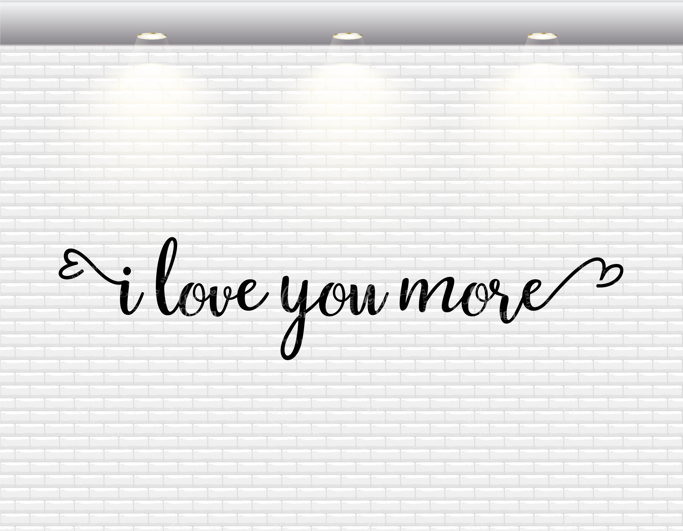 Download I Love You More SVG Cut Files