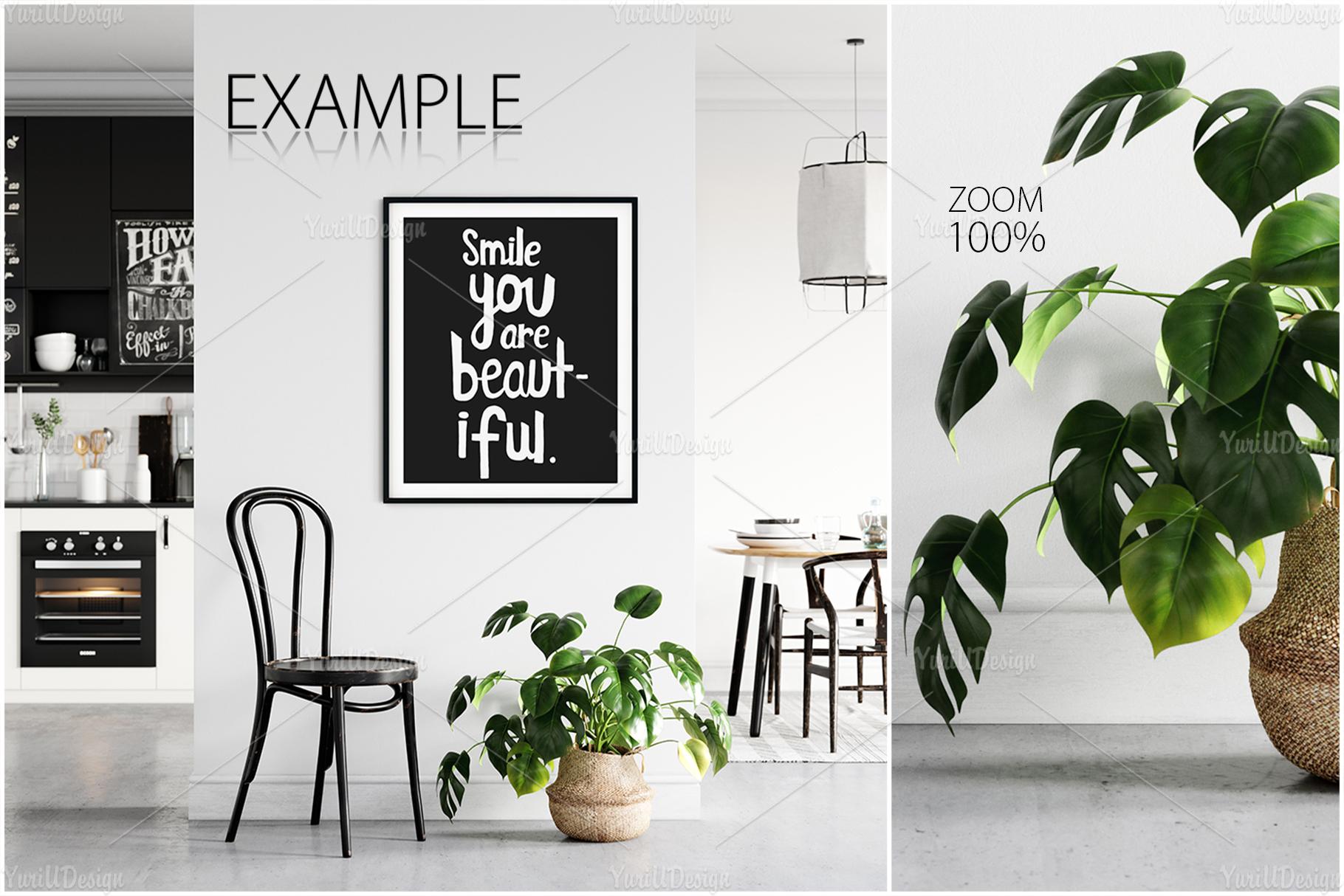 Scandinavian Interior Frames & Walls Mockup Bundle - 3 example image 13