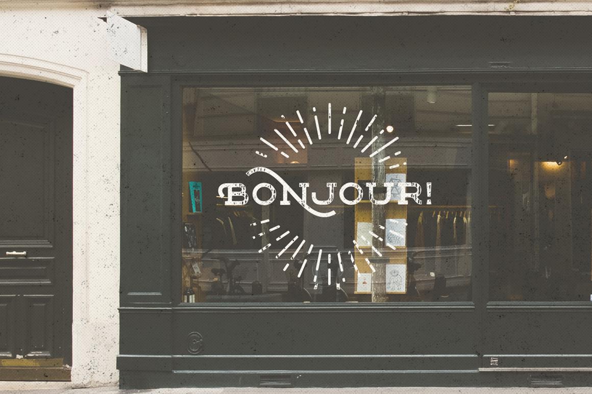 Floure Typeface + Extras example image 9