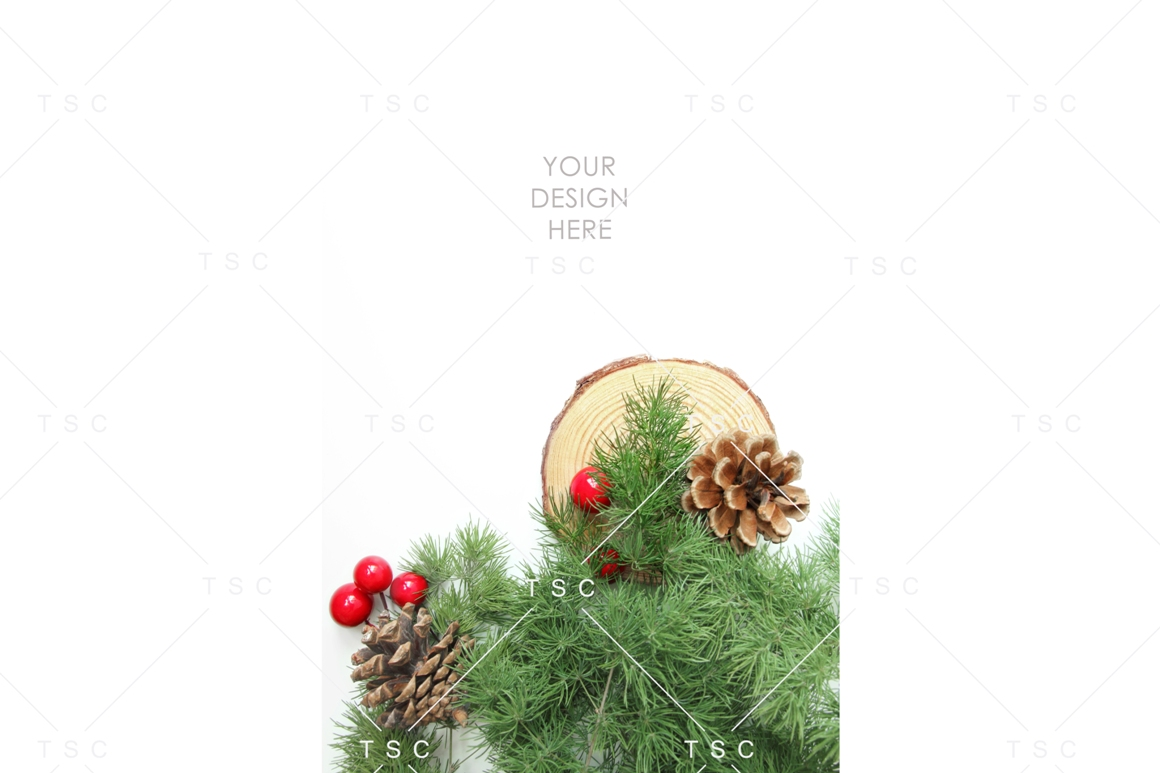 Christmas Stock Bundle / Background Image / Red / Green example image 5