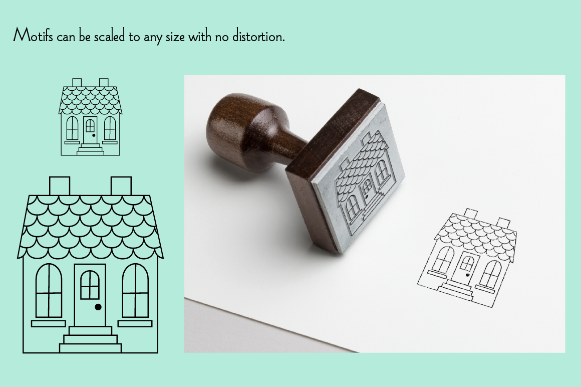 House Digital Stamps example image 3