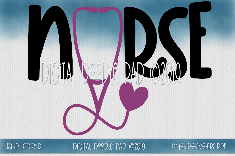 Nurse SVG Mini Bundle by Digital Doodle Pad example image 2