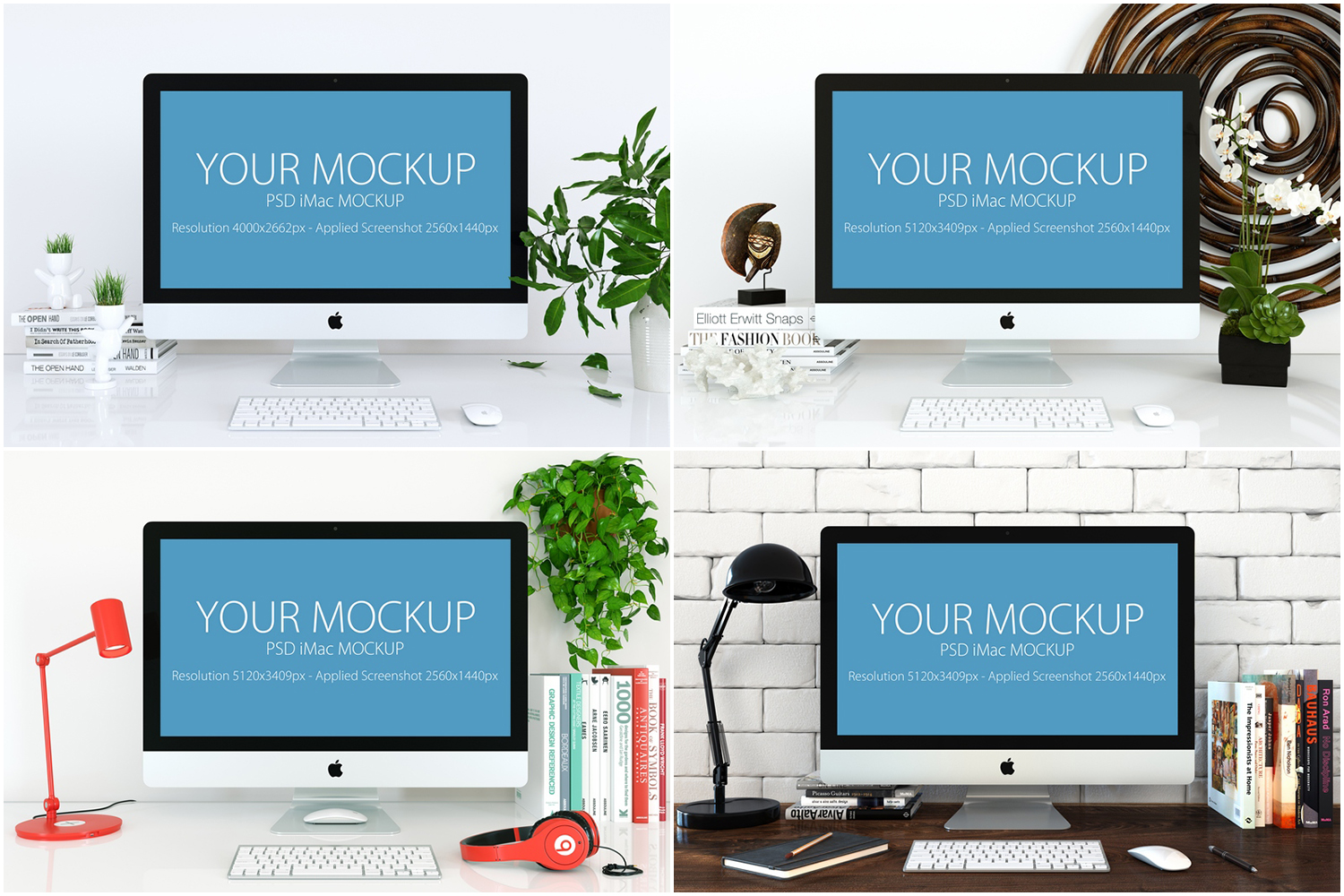 30 PSD Mock-ups Apple Devices example image 12