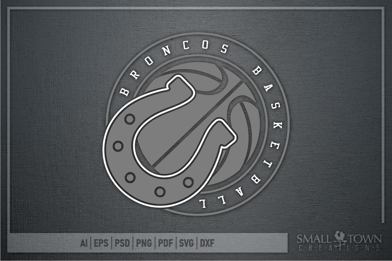 Bronco, Broncos Basketball, Team, Sport, PRINT, CUT & DESIGN example image 5