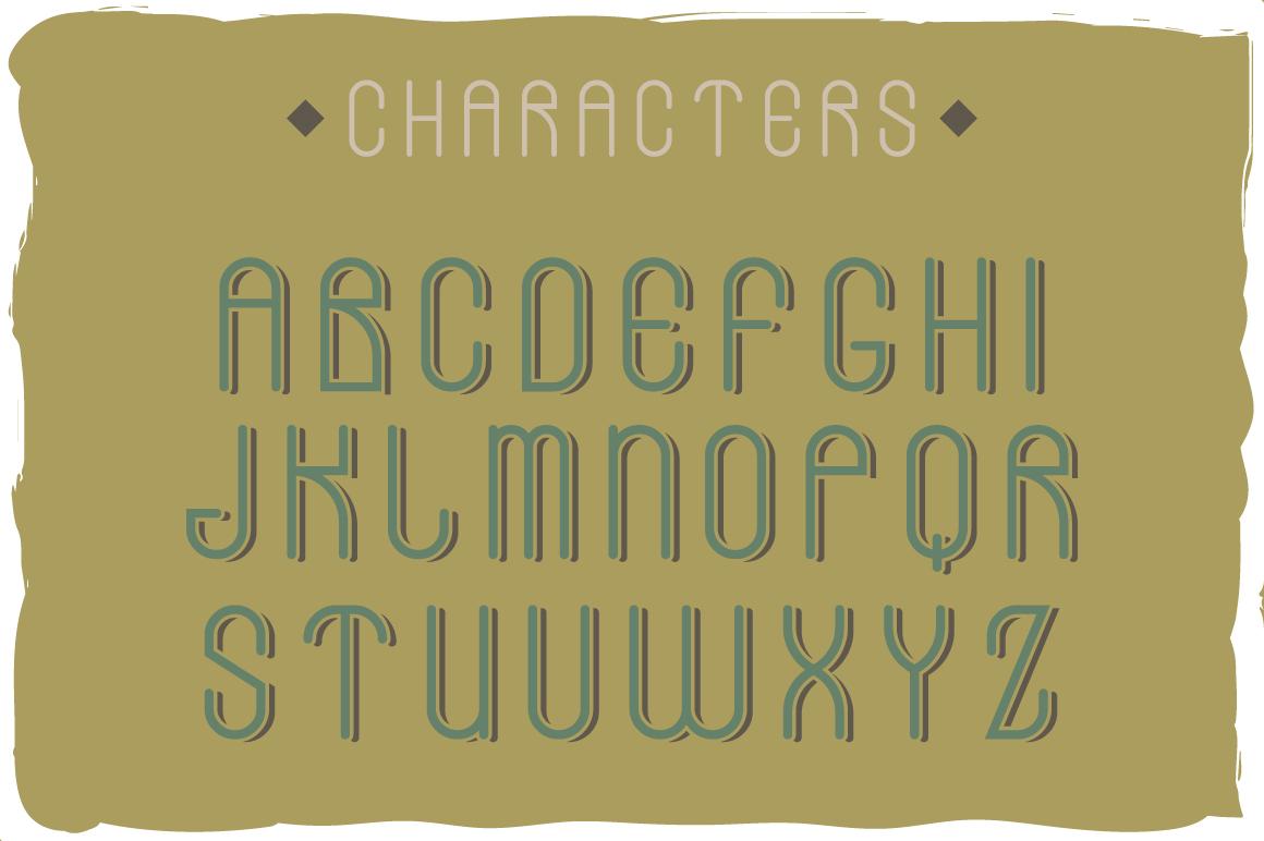 Stones typeface example image 2