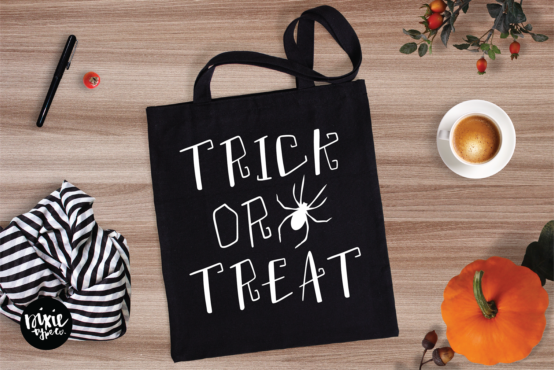 """""""Wickedly"""" a Decorative Halloween OTF Font Family example image 3"""