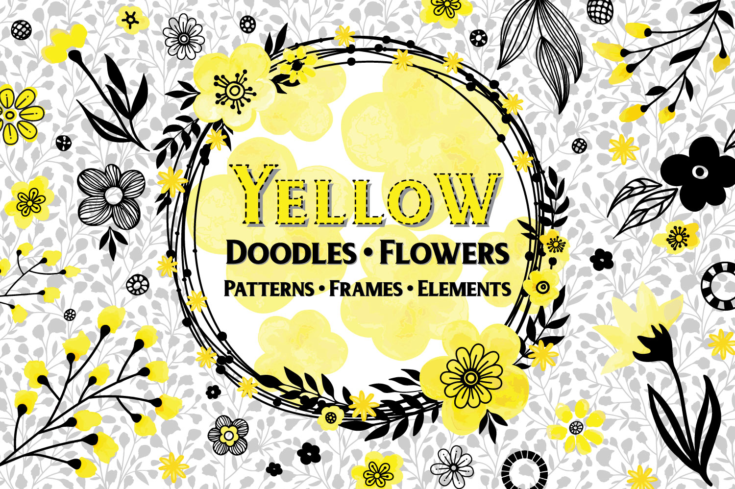 Yellow Floral Collection example image 1