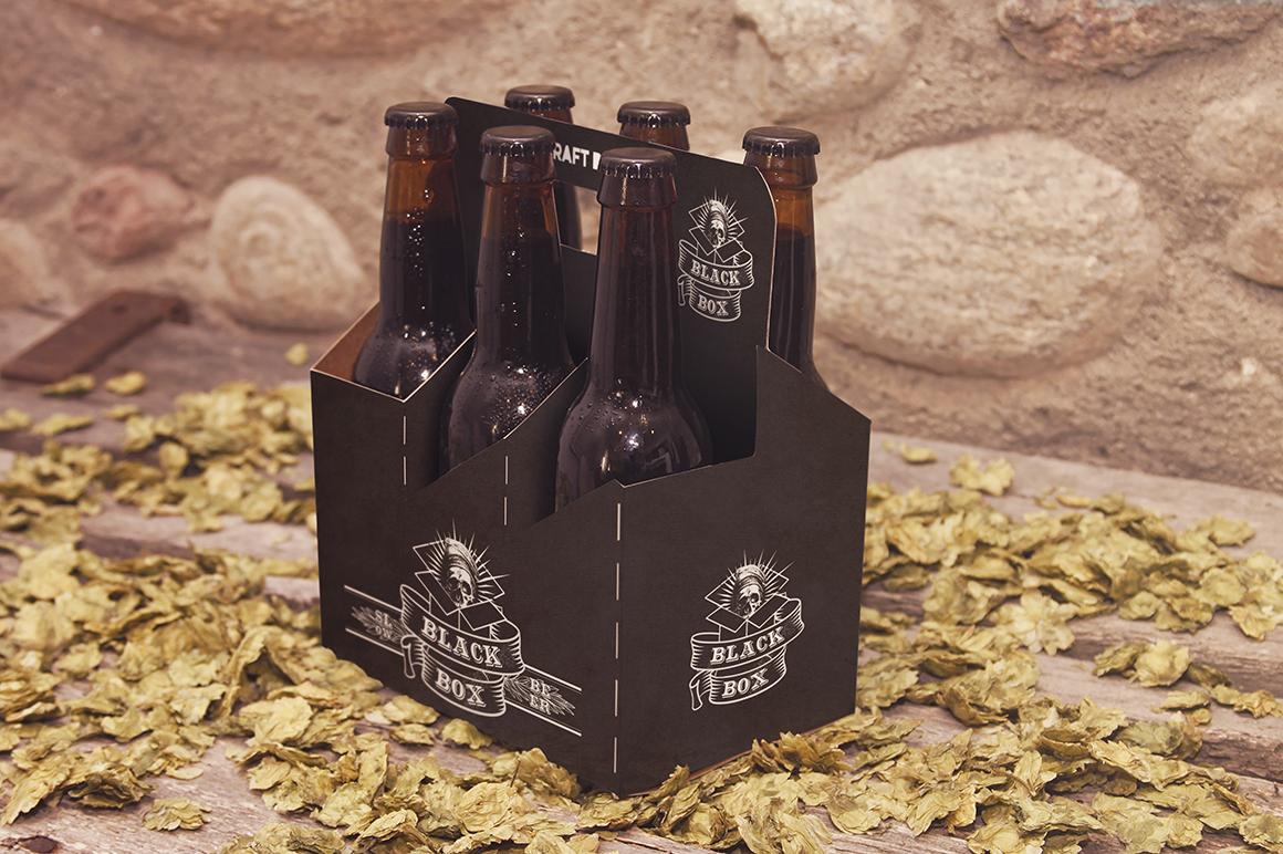 6 Pack Beer Mockup example image 4
