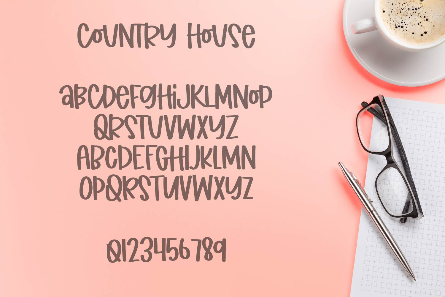 Country House - A Simple Clean Marker Type example image 8
