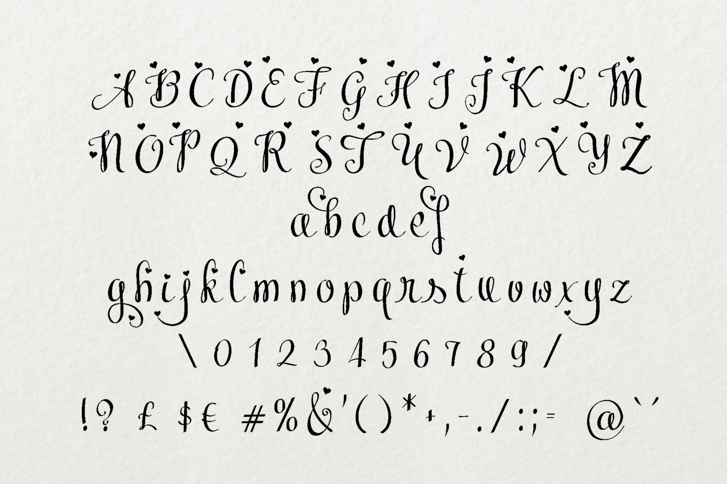 Meybi Font example image 4