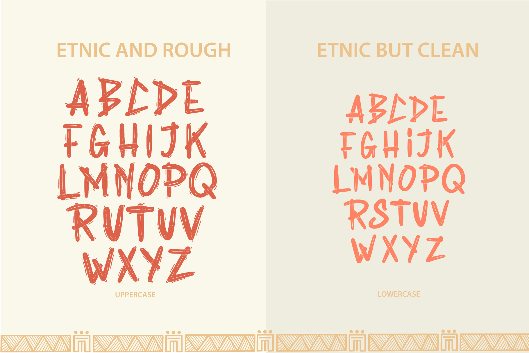 Rabsy African pattern font example image 3