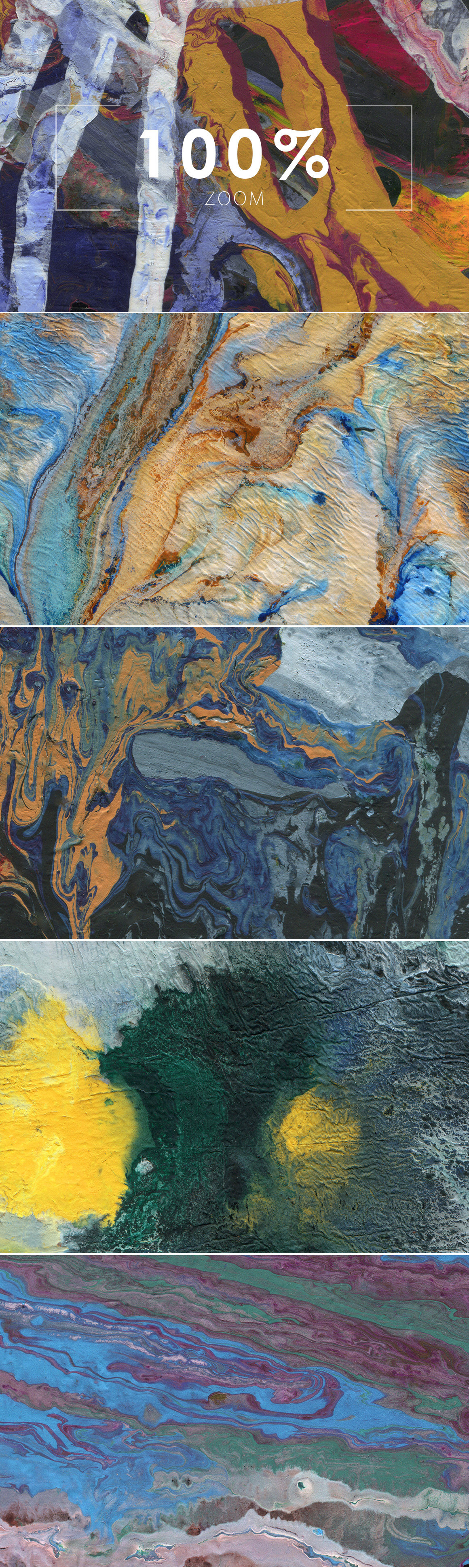 Abstract Paint Backgrounds Vol.2 example image 4