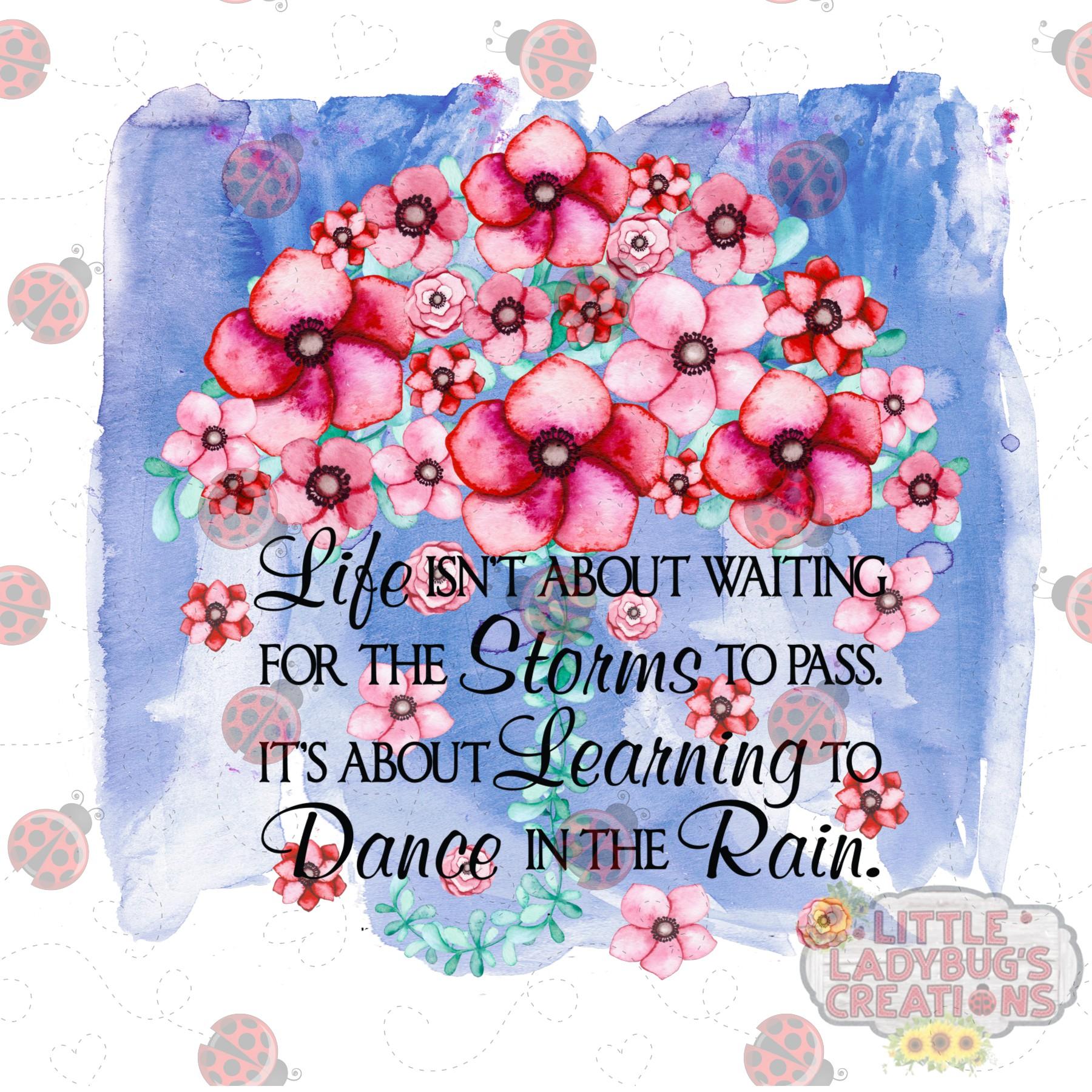 Dance In The Rain 300DPI PNG Printable Digital Design example image 2