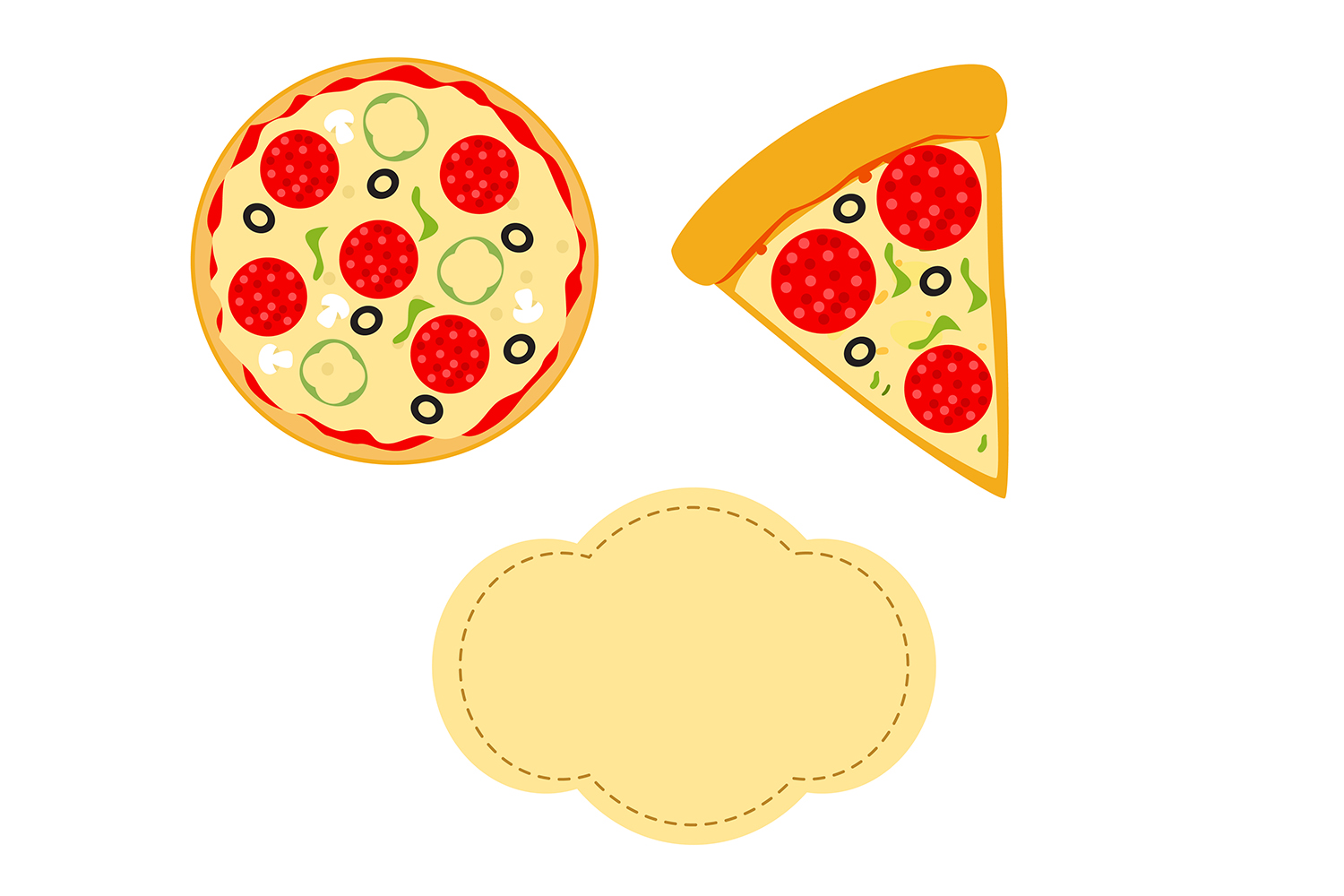 image relating to Pizza Printable identified as Pizza Electronic Paper, Foodstuff record, quick food items practice, Meals printable, electronic sbook, sbooking papers, pizza clipart.