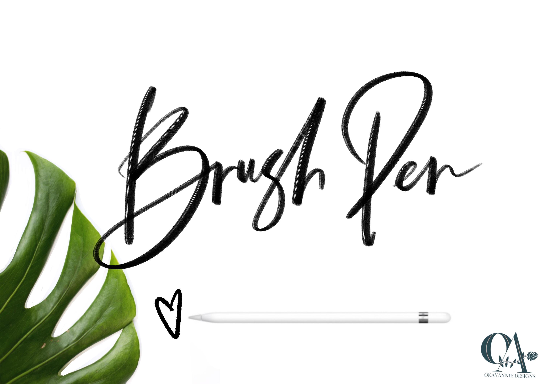 OkayAnnie Procreate Textured Brushes example image 4