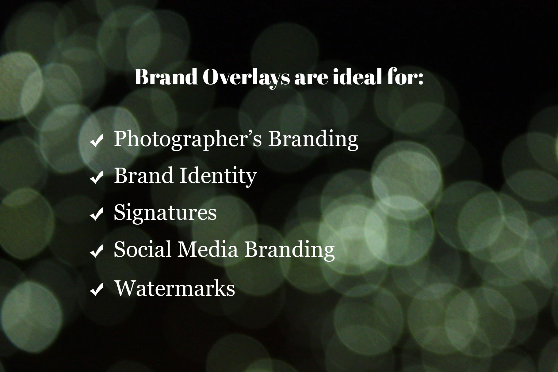 Brand Overlays example image 5