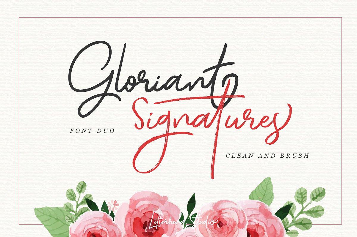 Gloriant Signature Script example image 7