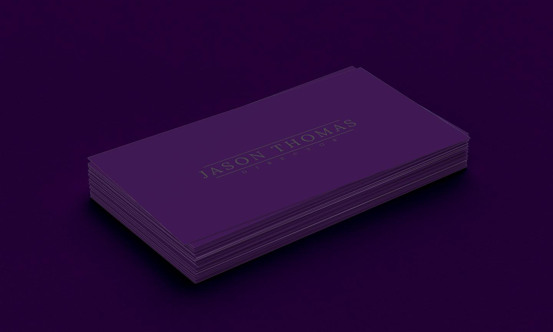 Bright Colour Beautiful Elegant Business Card 6 example image 2