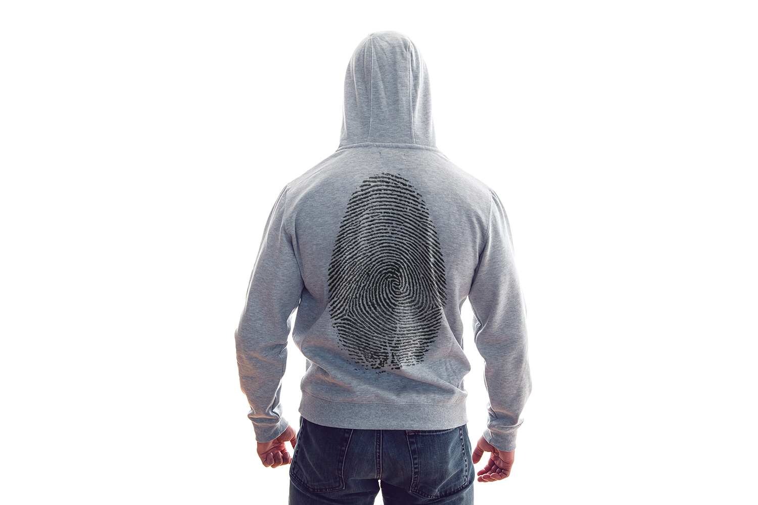 Men's Hoodie Mock-Up example image 3