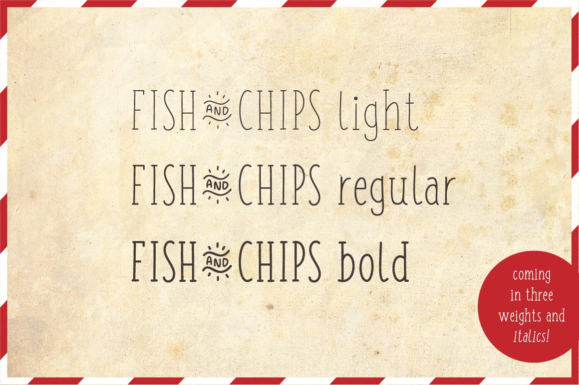 Fish and Chips - Full Family example image 2