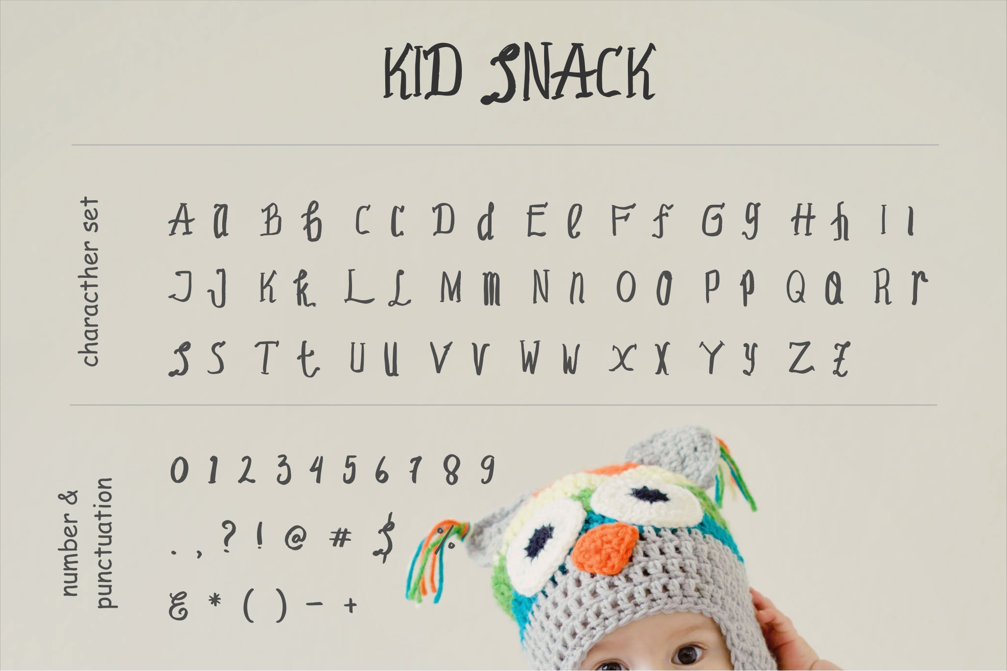 Kid Snack - A Playfull Font example image 5