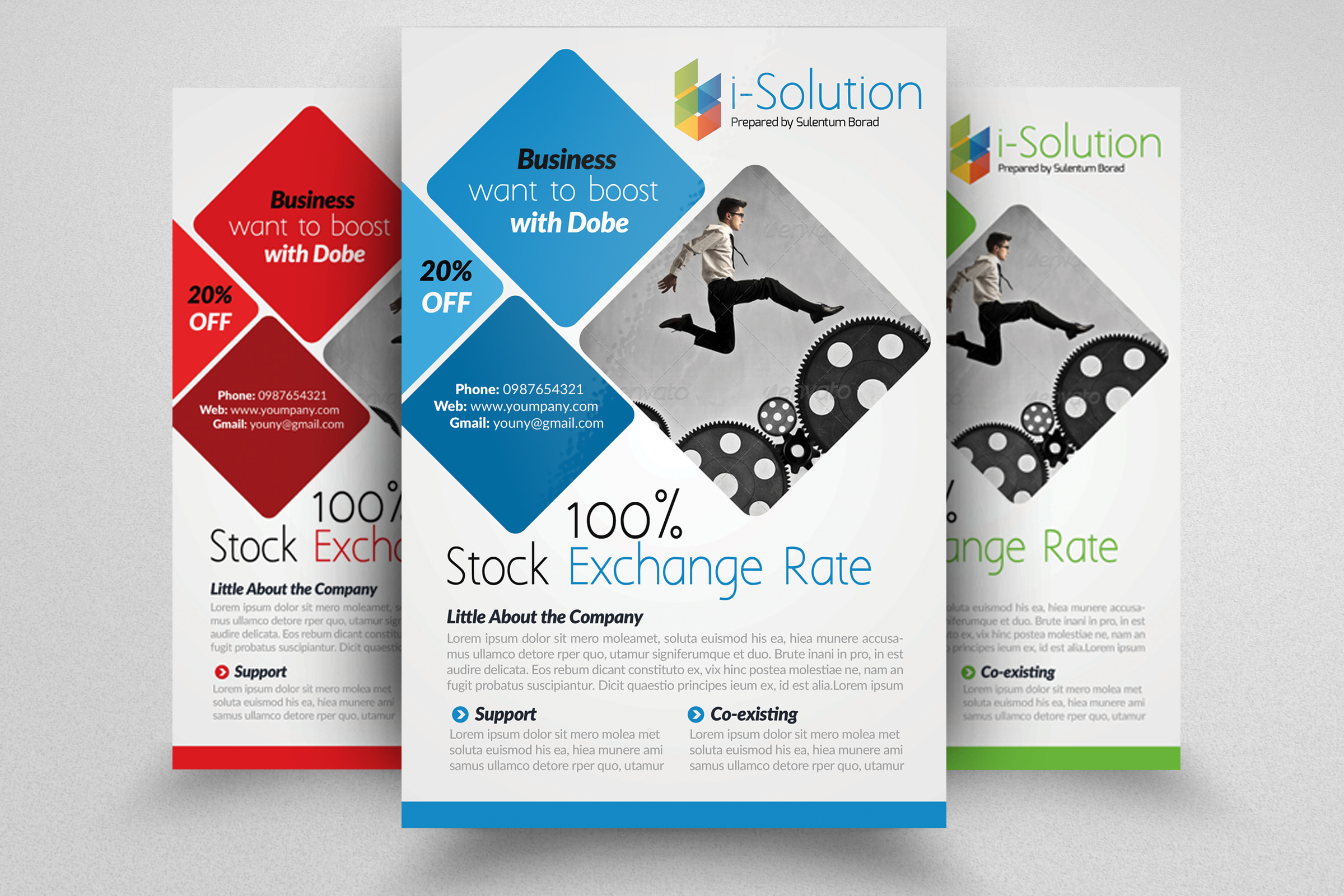 Business Strategic Management Flyer example image 1