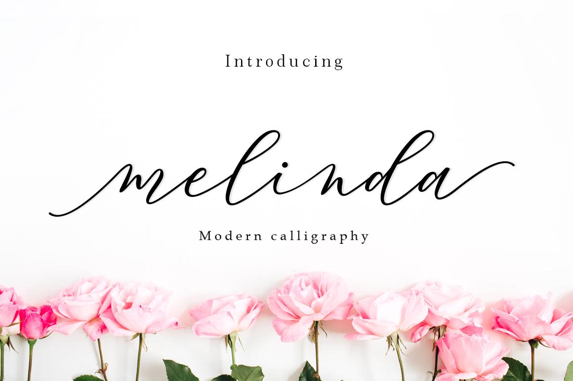 Melinda Script example image 1