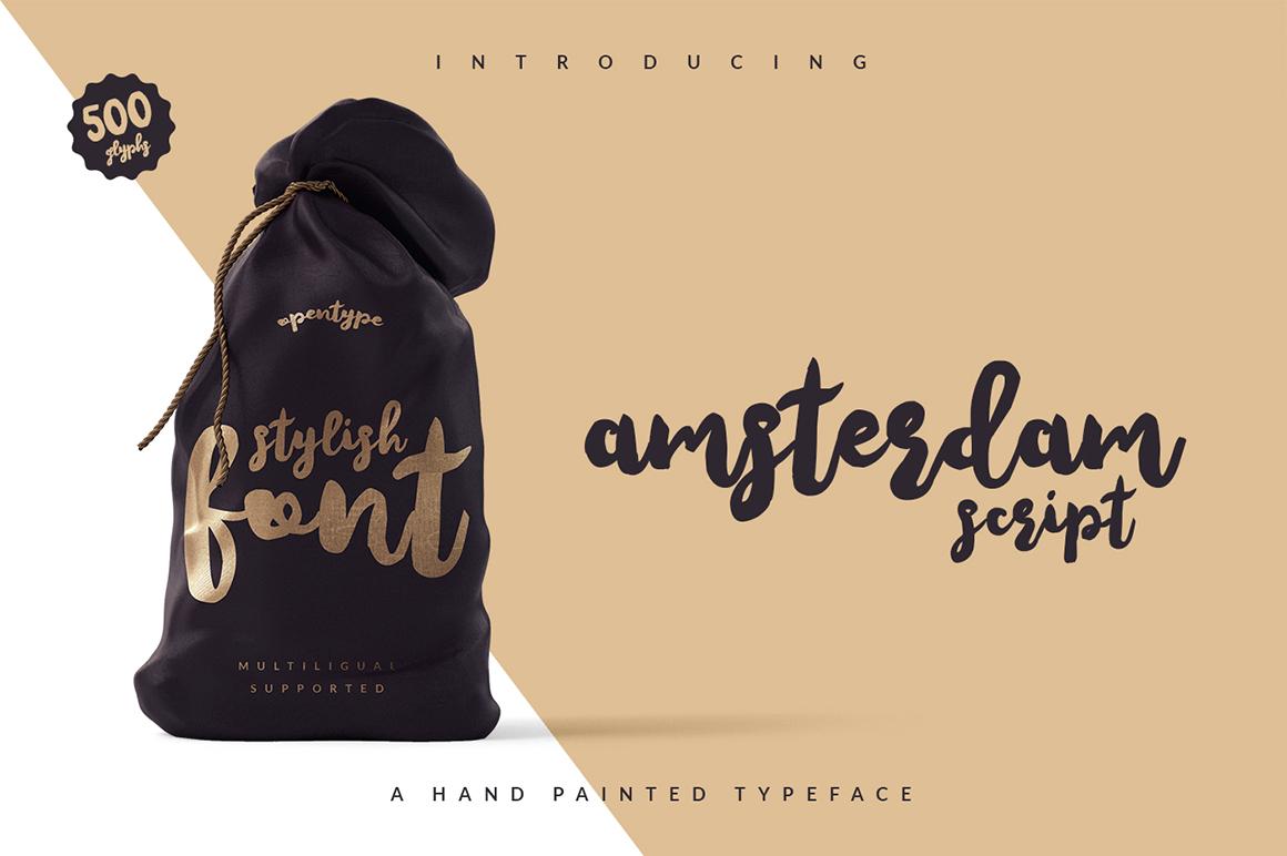 Amsterdam Script example image 2