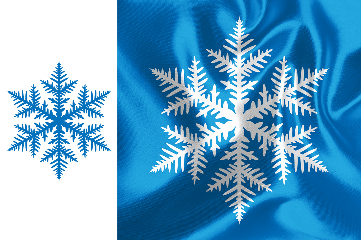 500 Snowflake Vector Ornaments example image 7