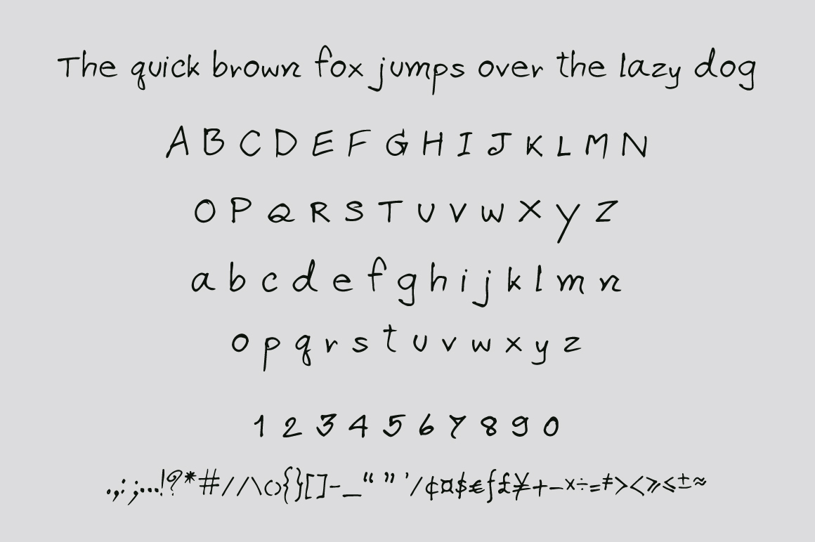 Apirak Handwriting Typeface example image 2