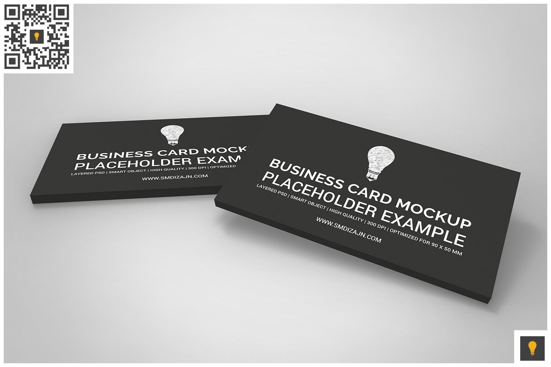 Business Card Mockup Set example image 2