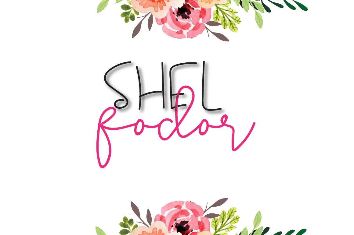 Shel Fodor Script Font example image 1