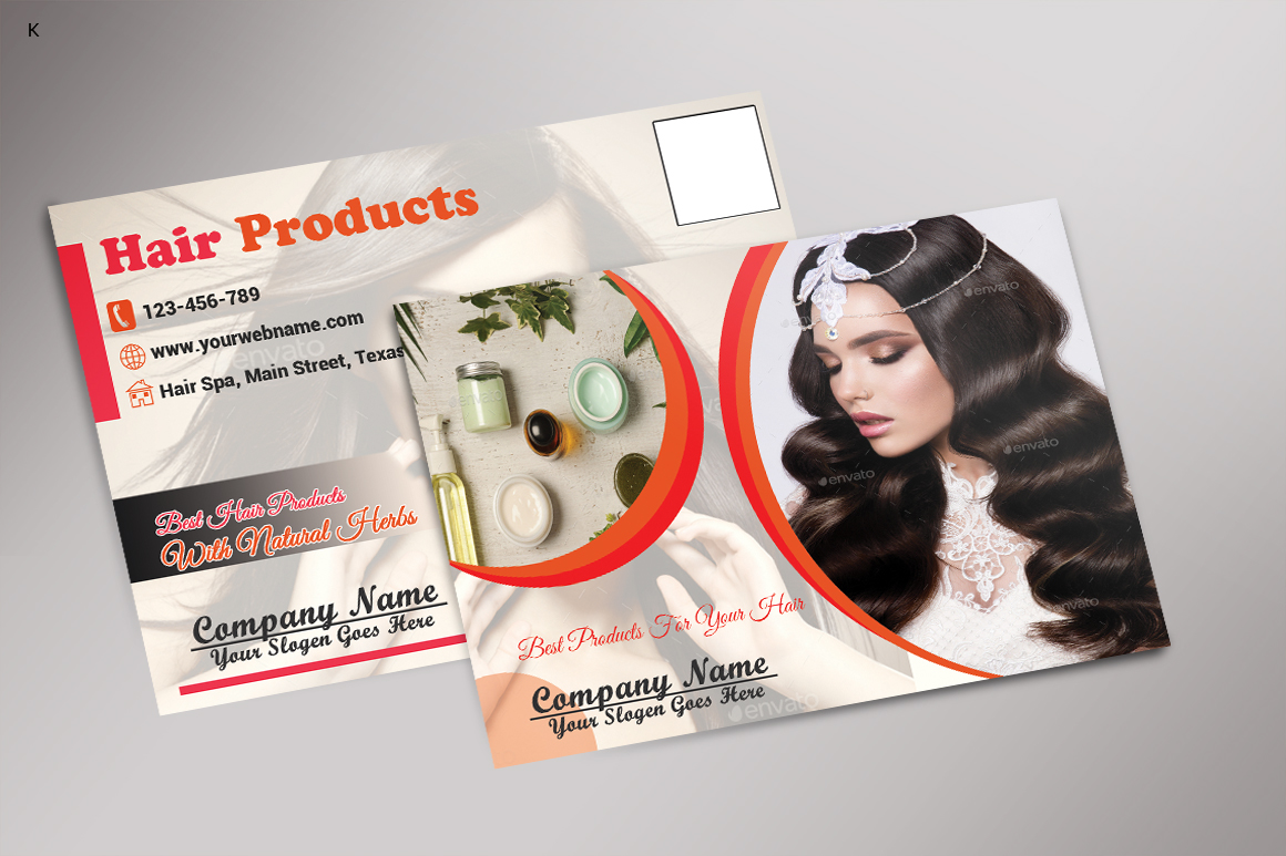 Hair Products Post Card example image 1