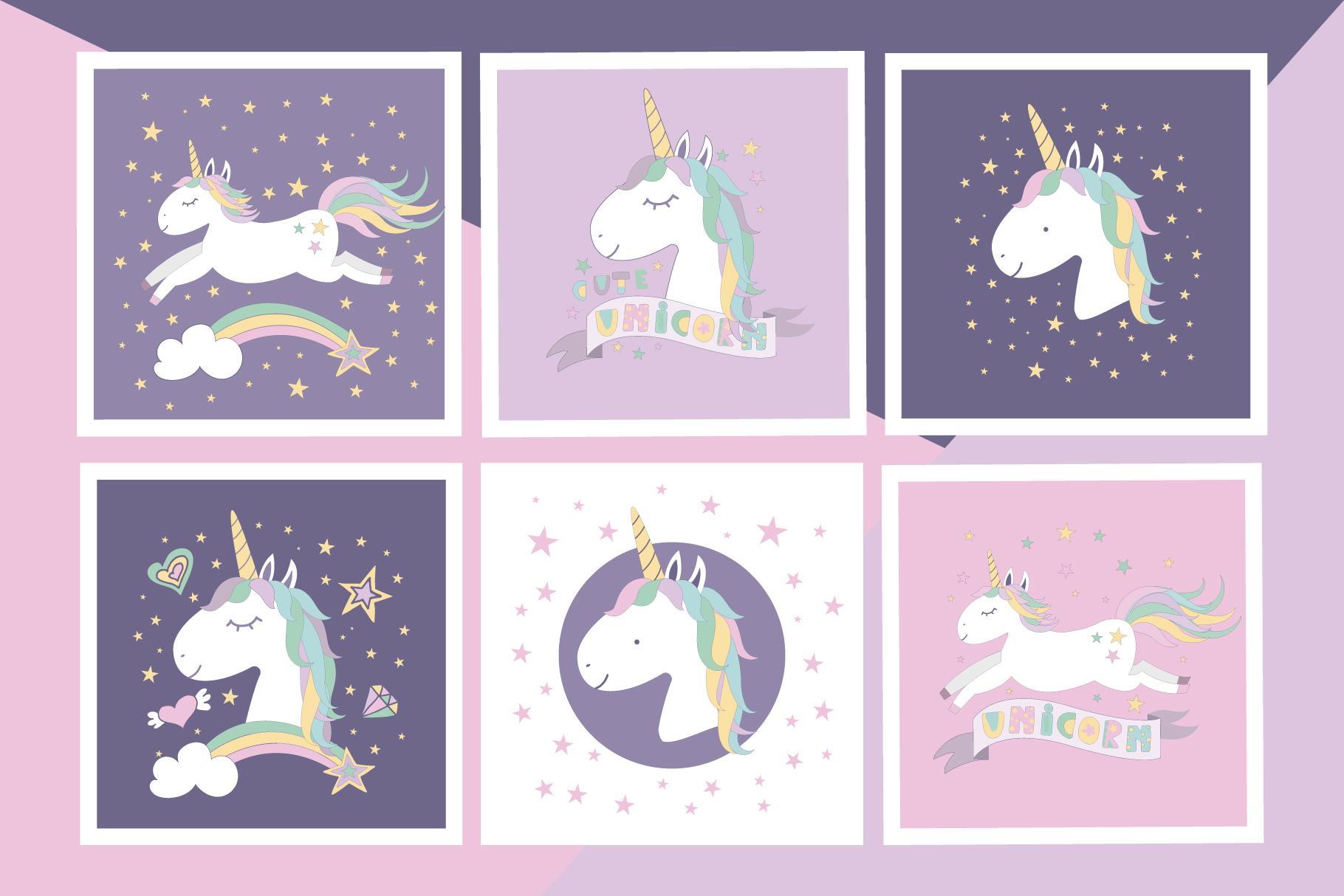 Unicorns are real set example image 2