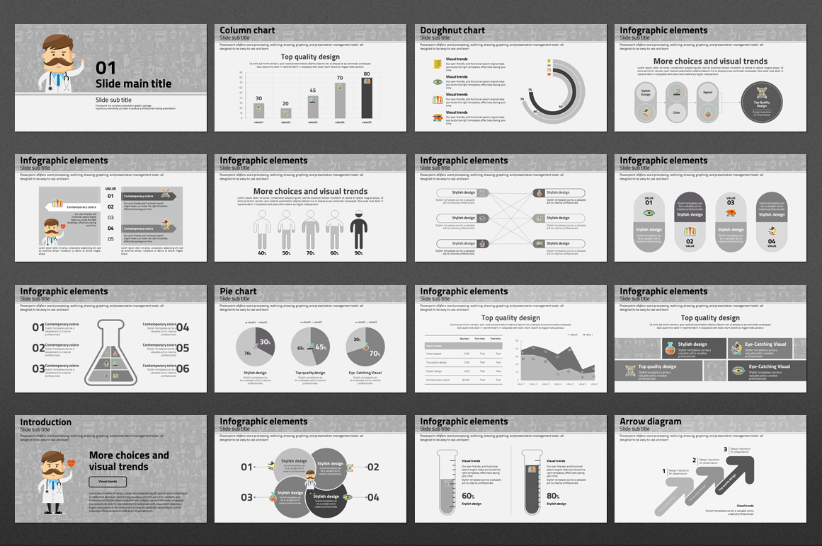 Doctor PowerPoint Template example image 3